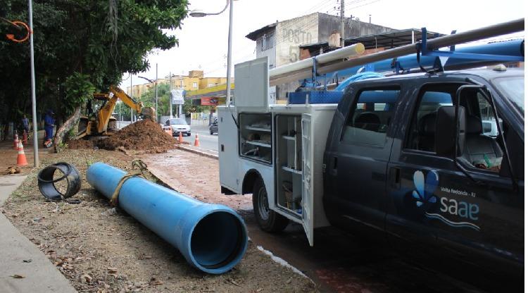 Saae de Volta Redonda realiza manutenção de rede de água nesta terça-feira
