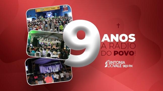 Contagem regressiva: Faltam 17 dias para a festa da Sintonia do Vale FM